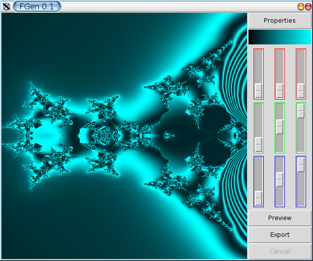 Generating fractals with Python and TkInter — ::eesite::